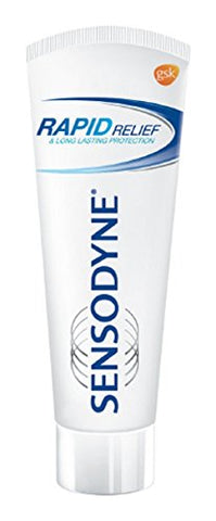 Sensodyne Sensitive Toothpaste Rapid Relief - 80 gm