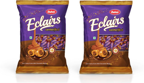 Dukes Eclairs Chocolate Candy(2 x 200 g)