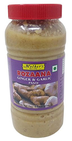 Mother's Ginger & Garlic Paste - Rozaana, 700g Jar