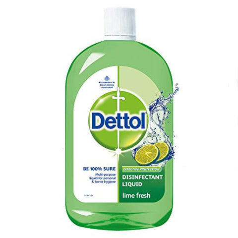 Dettol Disinfectant Cleaner for Home - Lime Fresh, 200 ml