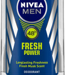 NIVEA MEN Fresh Power Deodorant Roll-on  -  For Men(50 ml)