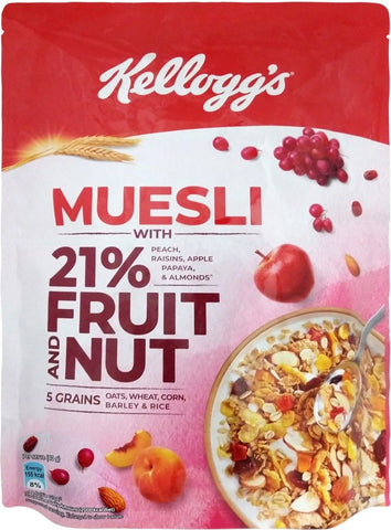 Kellogg's Fruit and Nut Muesli(500 g, Pouch)