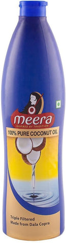 Meera Pure Coconut Hair Oil(500 ml)