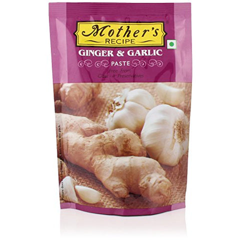 Mother's Recipe - Ginger & Garlic Paste, 200g Pouch