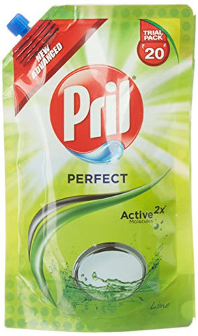 Pril Dish Washing Liquid - 120 ml (Pouch)
