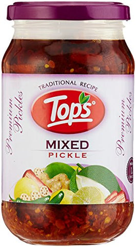 Tops Pickle Bottle, Mixed, 400g