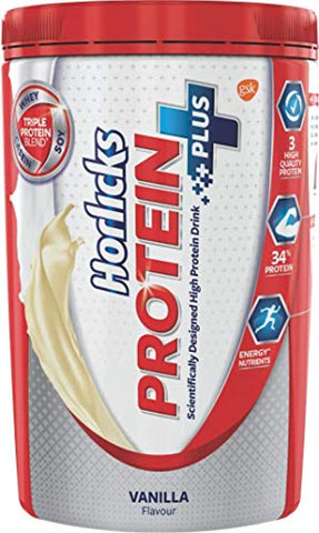 Horlicks Protein+ Health and Nutrition Drink - 400 g Pet Jar (Vanilla)