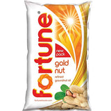 Fortune Goldnut Refined Groundnut Oil, 1L