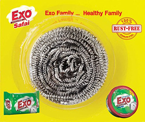 Exo Safai Steel Scrubber (Pack of 300)