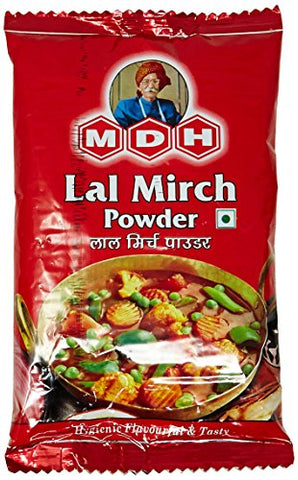 MDH Lal Mirch Powder, 100g Pouch