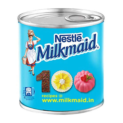 Nestle Milkmaid Sweetened Condensed Milk, 400G Tin Pack
