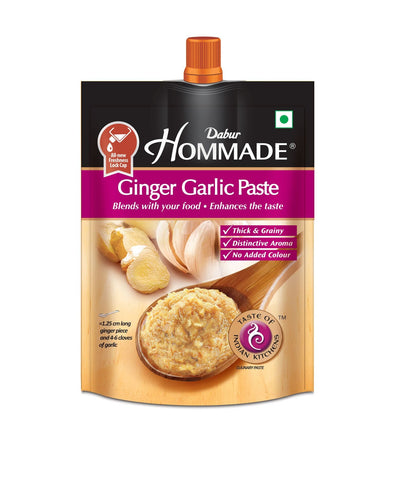 Dabur Hommade Ginger Garlic Paste 25g