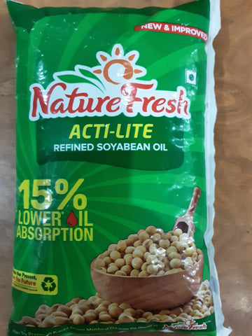 Nature  Fresh Acti Lite Refined Soyabean Oil
