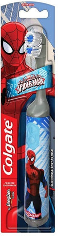 Colgate Kids Spiderman Battery Powered Extra Soft Toothbrush