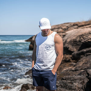 CAPE CODDER TANK - WHITE