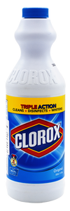 CLOROX Liquid Bleach Original, 500ml