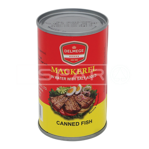 DELMEGE Canned Fish Mackeral, 155g