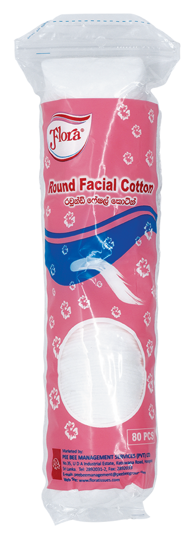 FLORA Facial Cotton, 80s