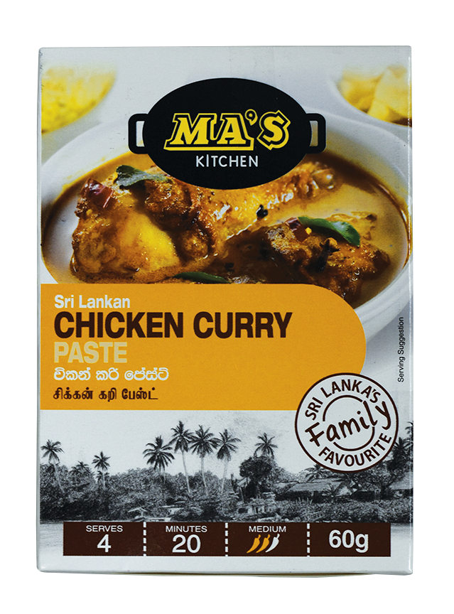 MA'S Sri Lankan, Chicken Curry Paste, 60g