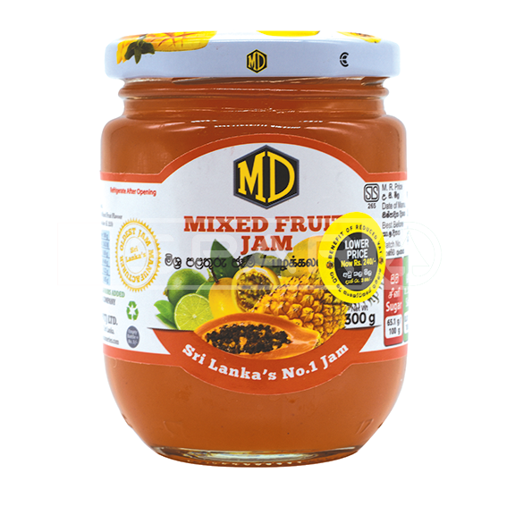 MD, Jam Mixed Fruit, 300g