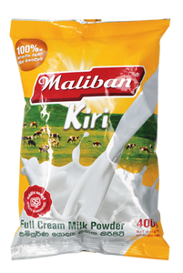 MALIBAN Milk Full Cream Pouch, 400g