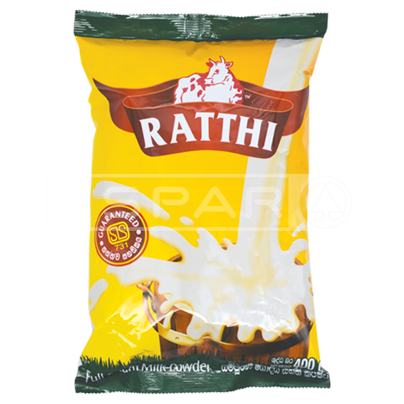 RATHTHI Full Cream Milk Powder Smart, 400g