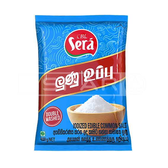 SERA Salt Iodized Edible Common Salt, 400g