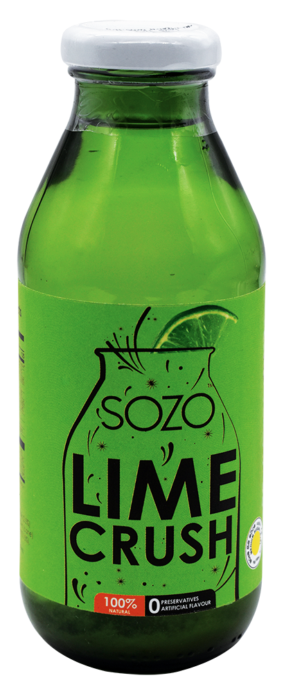 SOZO Lime Crush Nectar, 350ml