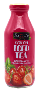 TEA 4U Black Tea Strawberry, 350ml