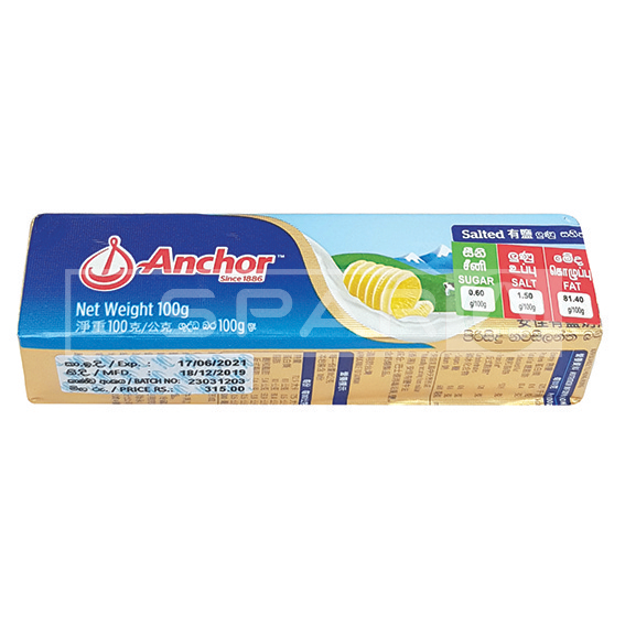ANCHOR Butter salted 100g