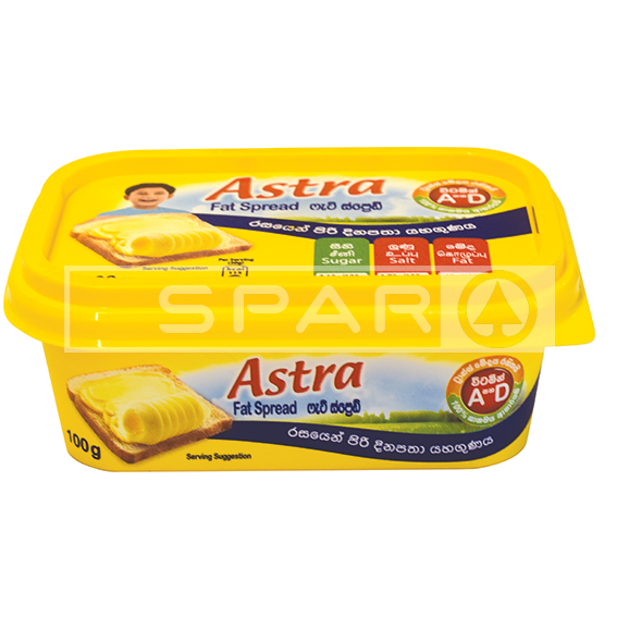 ASTRA Margarine Square Tub, 100g