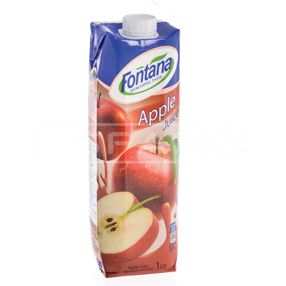 FONTANA Apple Juice, 100% Natural, 1litre