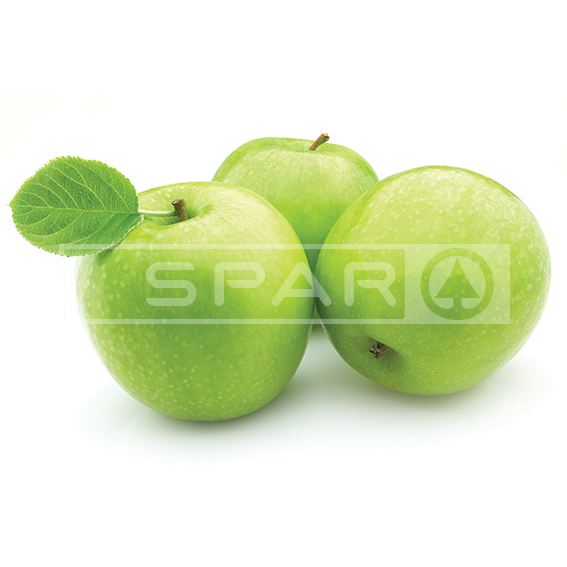 GREEN APPLES, 3's (about 500g)