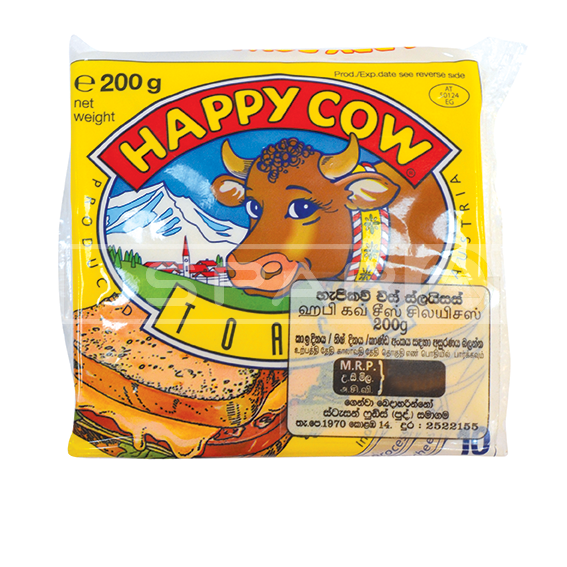 HAPPY COW Cheese, Toast Slices 10s / 200g