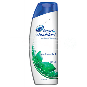 HEAD & SHOULDERS Shampoo, Cool Menthol, 170ml