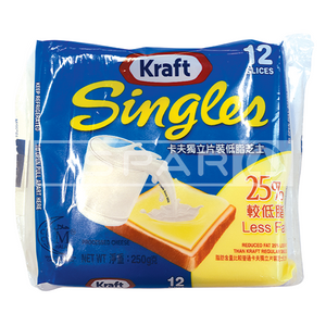 KRAFT Singles Redcued Fat, 250g