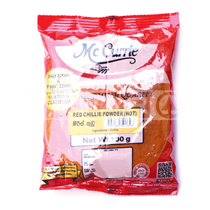 MCCURRIE Red Chilli Powder, Hot, 100g