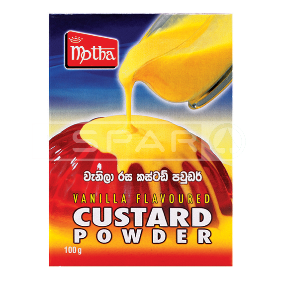 MOTHA, Custard Powder, Vanilla, 100g