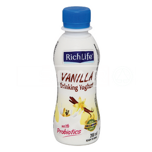 RICHLIFE Drinking Yoghurt, Vanilla, 200ml