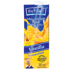 RICHLIFE, UHT Milk Vanilla, 180ml