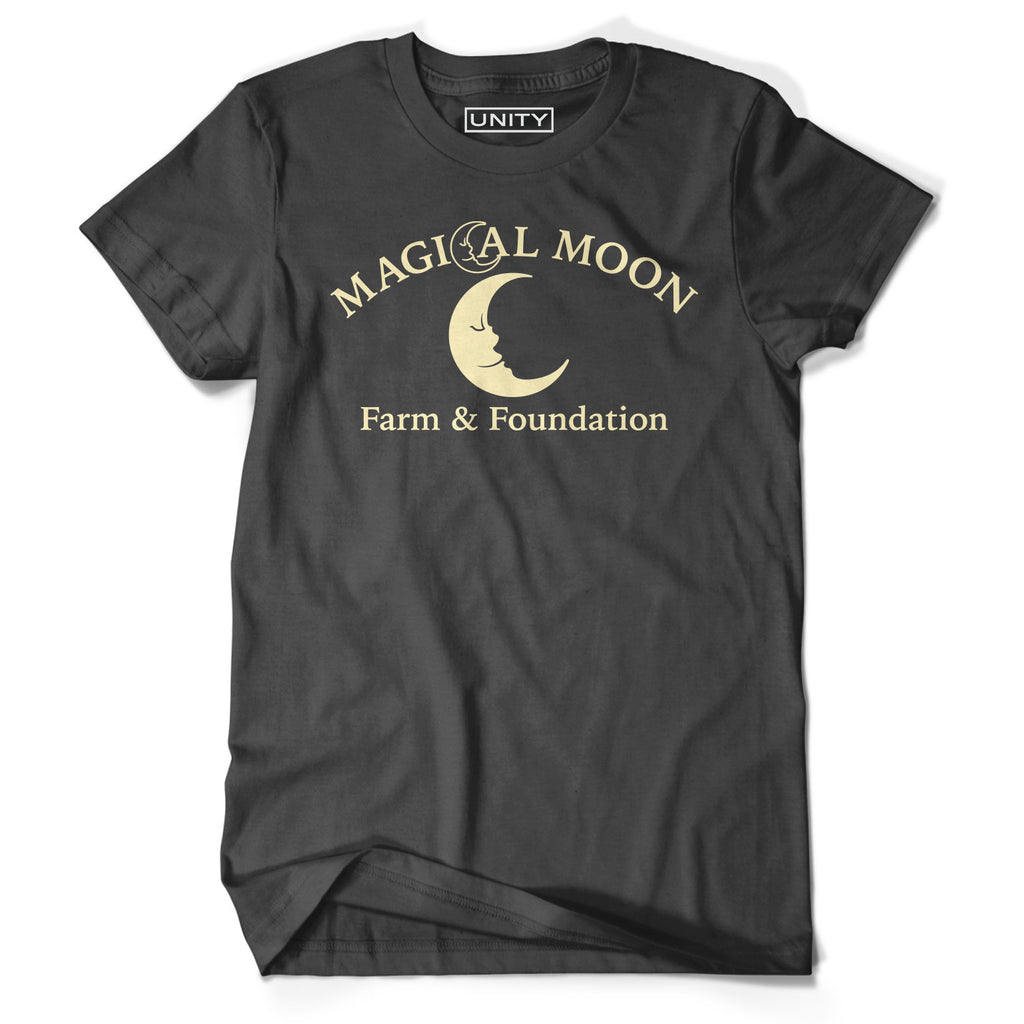 Magical Moon Farm Dark Grey Tee (Adult Sizes)