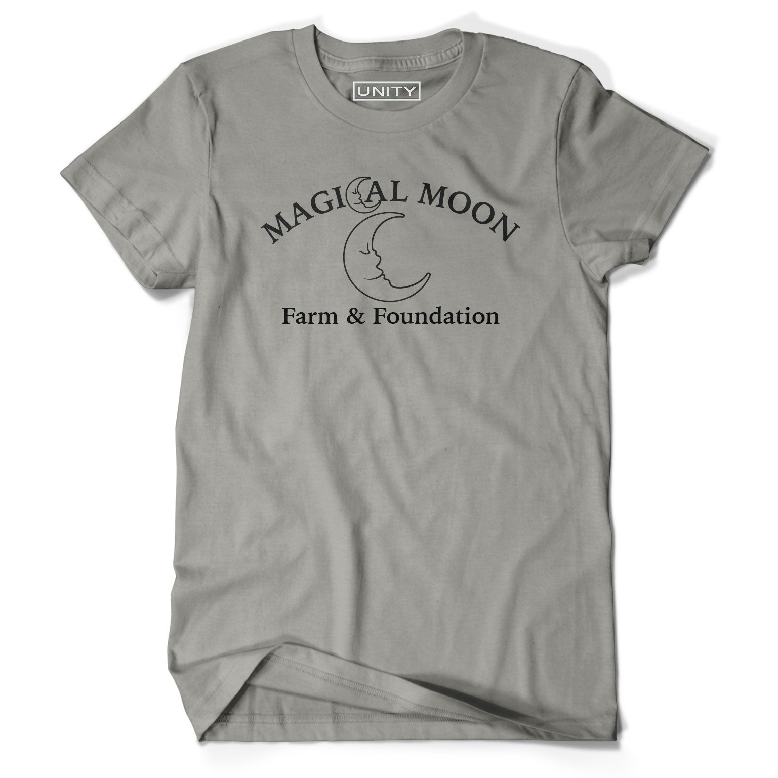 Magical Moon Farm Light Grey tee (Kids and Adult)