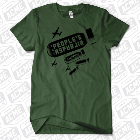 Peoples Republik - Bomb Logo Green Tee