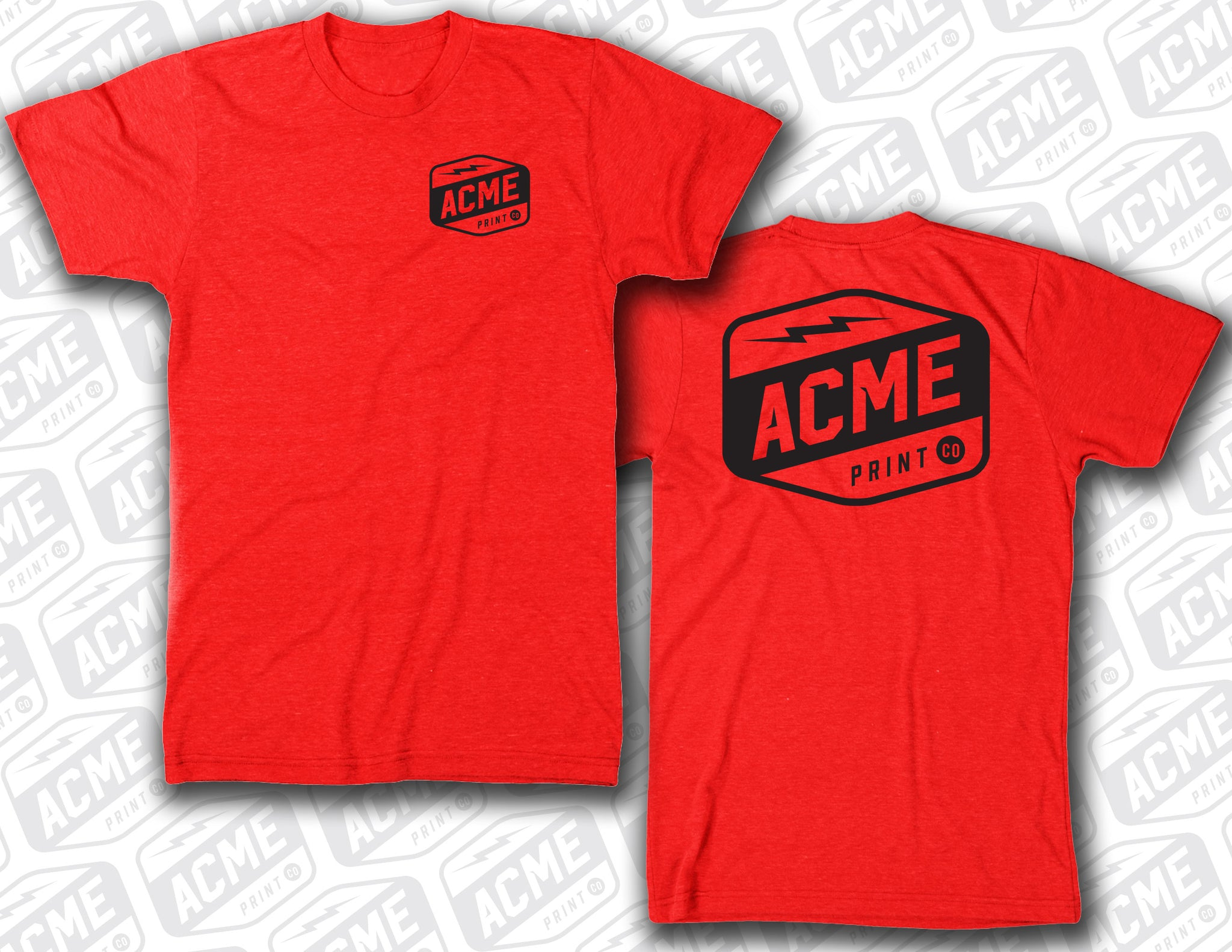 ACME - New School Red Tee