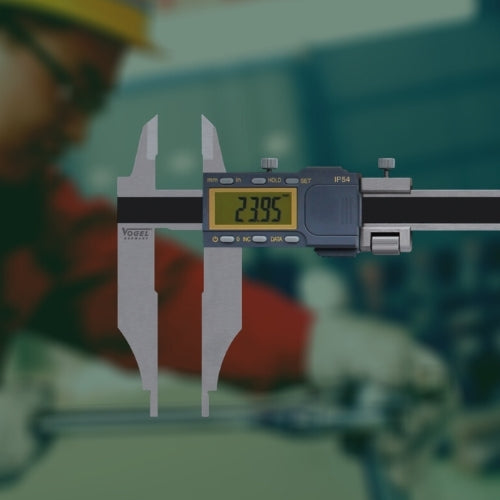 picking a digital caliper mitutoyo vogel
