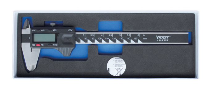 Digital Caliper with Foam Inlay waterproof