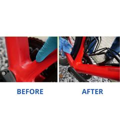 Bicycle Before and after