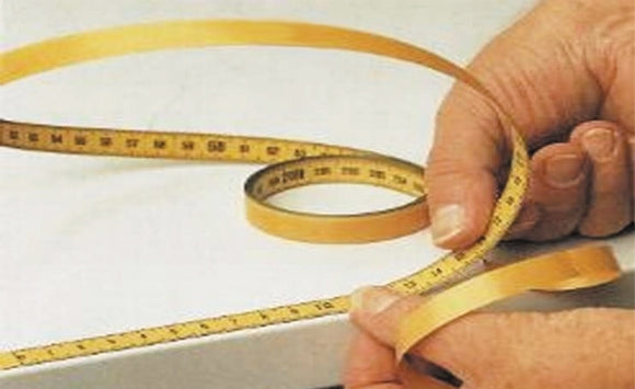 Steel Measuring Tape with adhesive