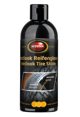 tyre shine wet look autosol