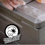 Gorilla Crystal Clear tape weather resistant